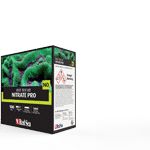 Advanced colorimetric test with comparator, measuring the level of Nitrate in your reef aquarium, with exceptionally high accuracy of 0.12ppm NO3
