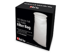Red Sea 100 micron Aquarium felt filter bags