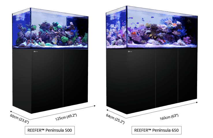Red Sea Reefer Peninsula 650 White 175 Gallon System 42362